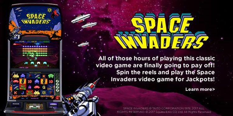 Space Invaders Slot -28065