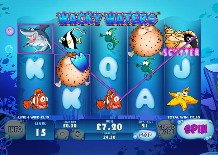 Wacky Waters Slot -424011