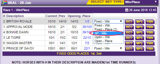 Fixed Odds -211080