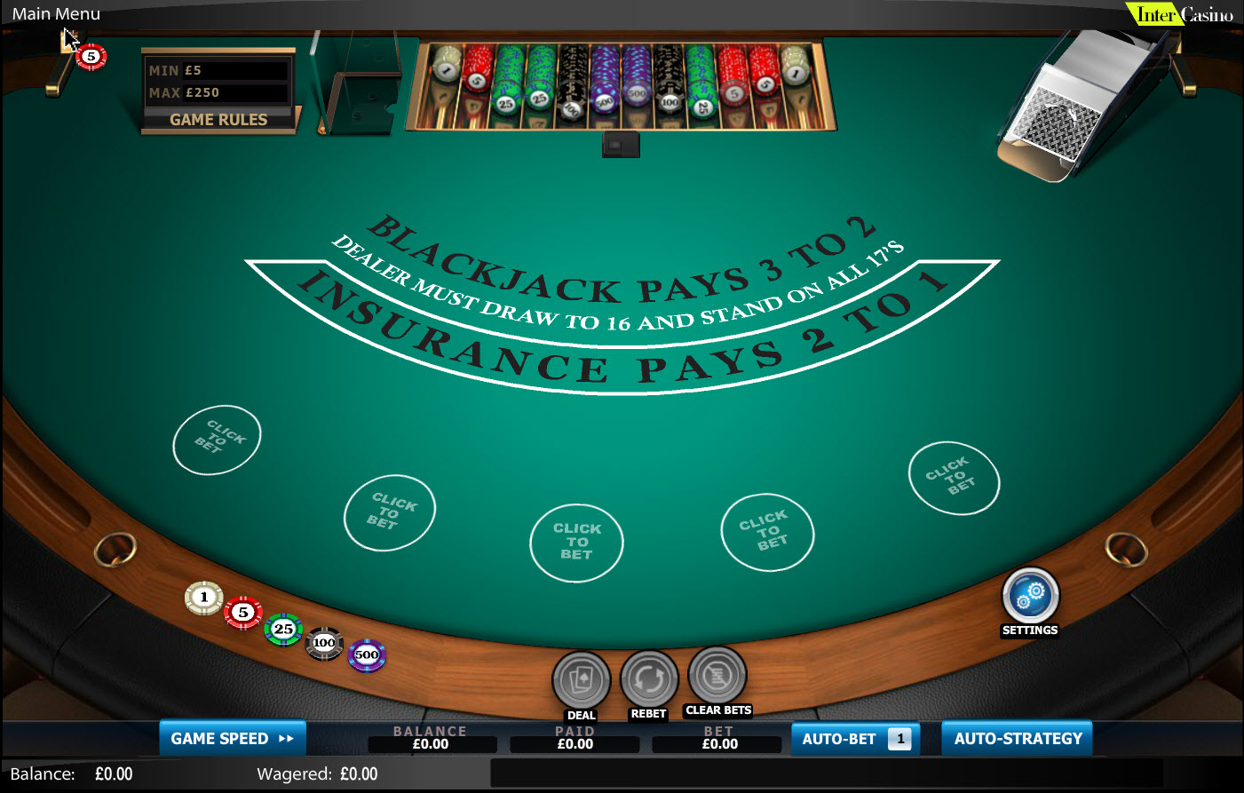 Blackjack Odds -509491