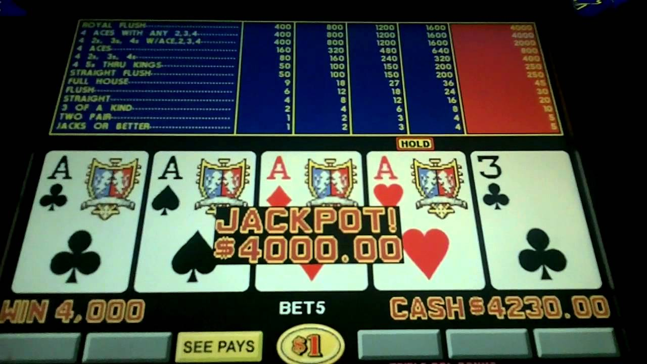 Video Poker Pay -127886