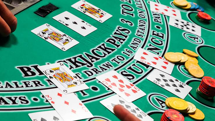 Double Deck Blackjack -866887