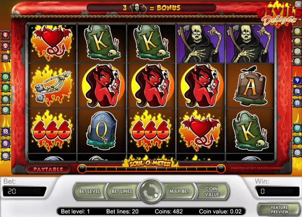 Devil Delight Slot -538333