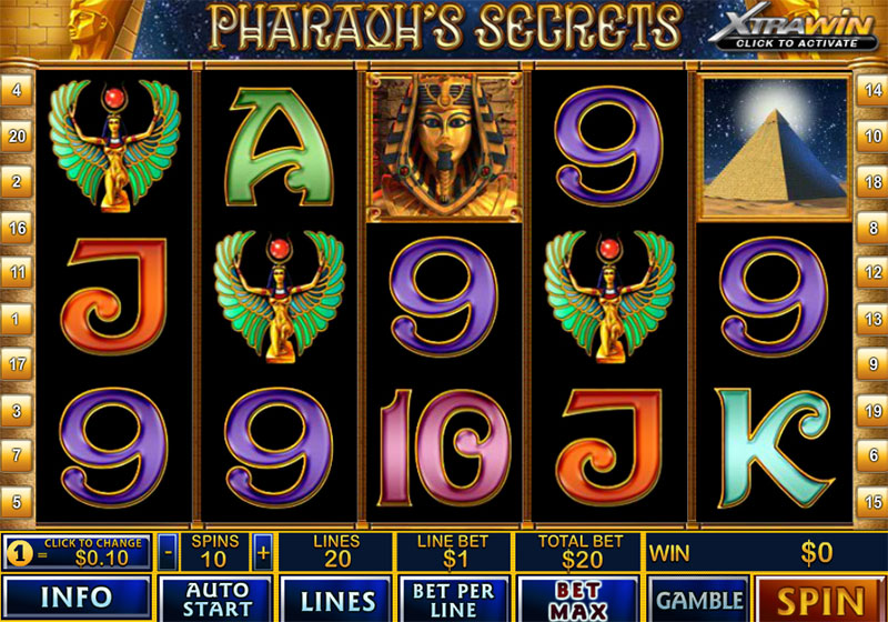 Pharaoh Secret Slot -68672