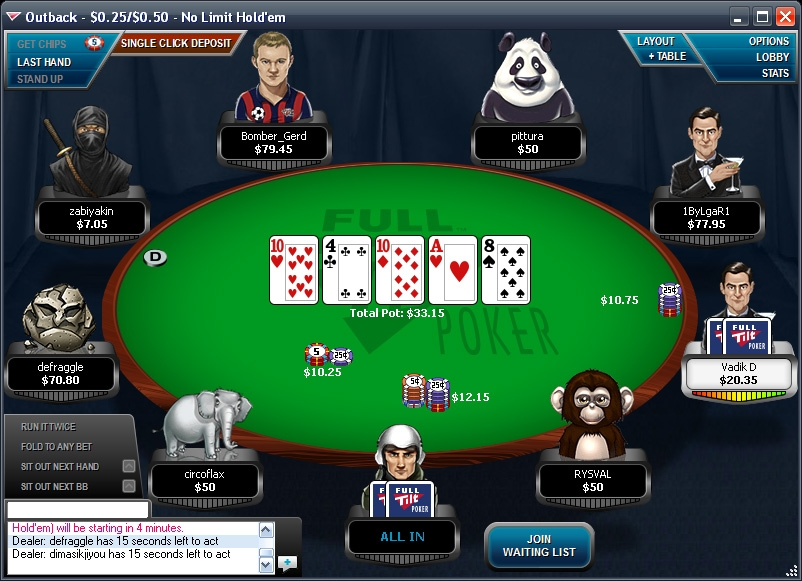 Daily Freeroll -295881