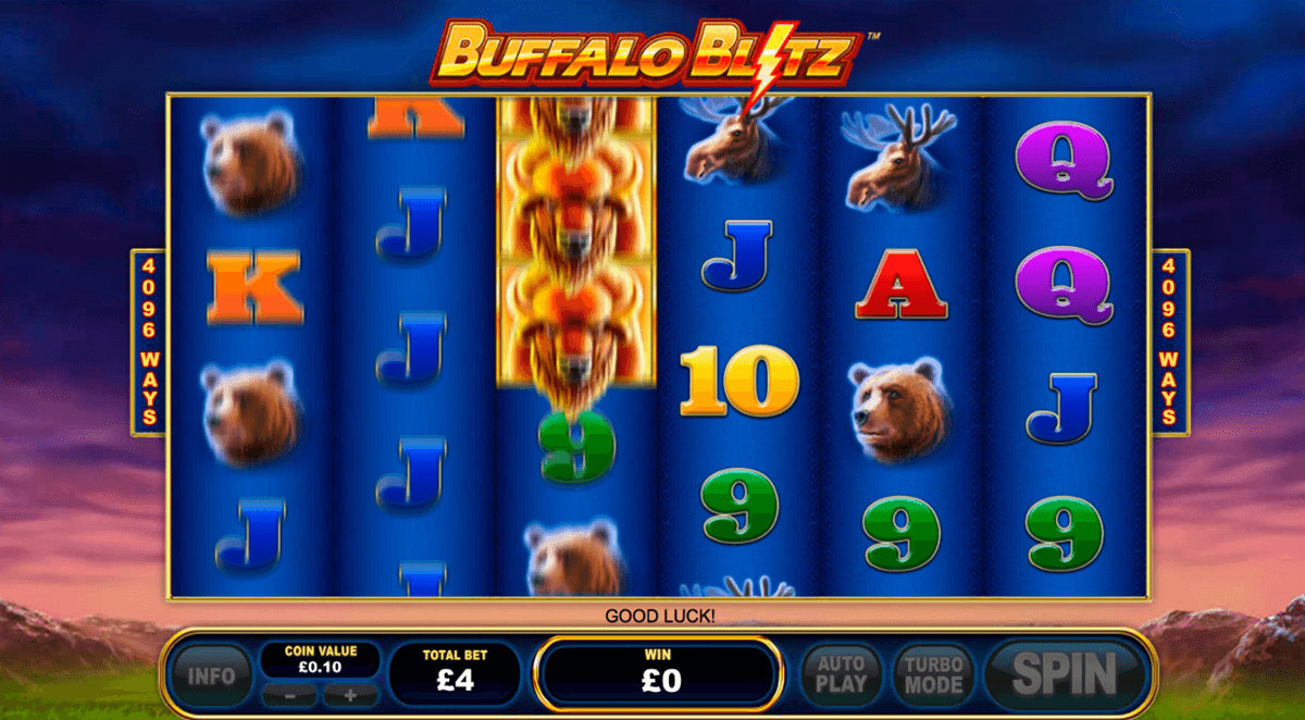 Buffalo Blitz Slot -501904