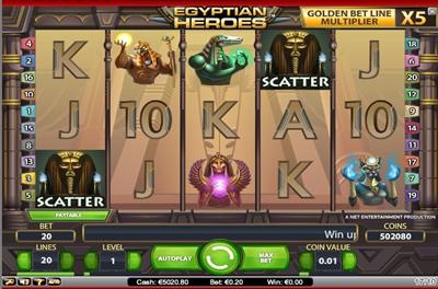 Egyptian Heroes Slot -85889